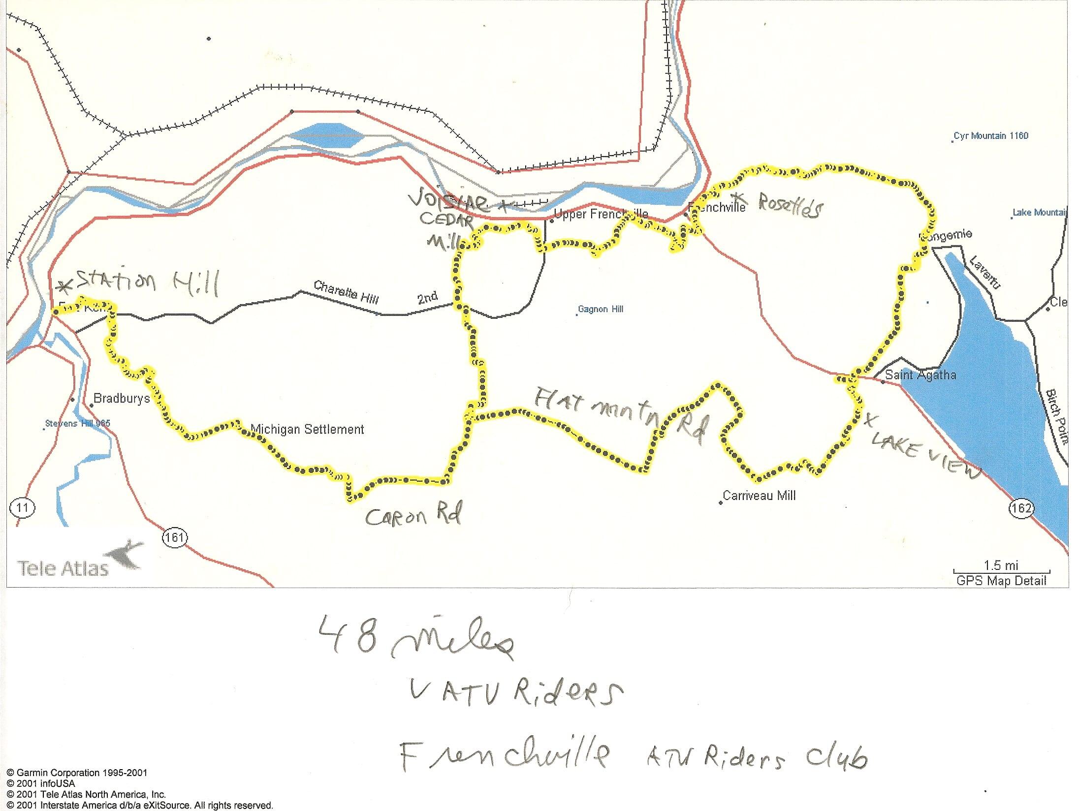 Grand Lake Stream Maine Map.Maine Atv Dirtbike Trail Maps Untamed Mainer