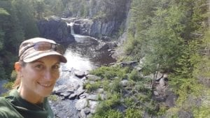 Billings Falls, Gulf Hagas hike in Maine.