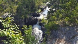 Waterfall,, Gulf Hagas, Maine